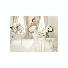 O superba rochie de mireasa Pronovias - Rochie de mireasa sirena