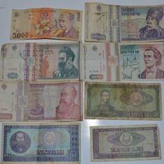 Bancnote romanesti vechi