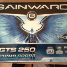 Gainward GTS 250 GeForce Placa Video - Placa video PC Gainward, PCI Express, 512 MB, nVidia