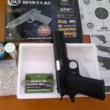Vand pistol airsoft cu arc Colt M1911A1 Editie Aniversara - Arma Airsoft Kjw