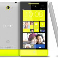 Vand htc windows 8s gri/verde sigilat - Telefon mobil HTC 8S, Neblocat