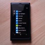 Telefon mobil Nokia Lumia 800, Negru, Neblocat - Nokia lumia 800 sau schimb cu iphone 4s