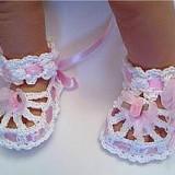Pantofiori crosetati