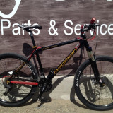 Mountain Bike Nespecificat, 18 inch, 26 inch, Numar viteze: 30, Aluminiu, Negru - Bicicleta Magellan Pyxis Team