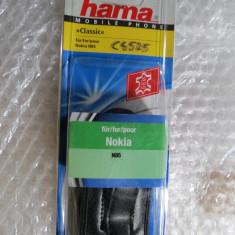 CS525 Husa telefon mobil Nokia N85 Hama cu insertie piele