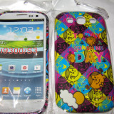 Husa plastic Hard case Samsung I9300 Galaxy S III S3 Model deosebit + Folie de protectie - Husa Telefon Samsung, Samsung Galaxy S3