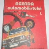 Agenda automobilului, 2 volume, 1984-1985, cartonate - Carti auto