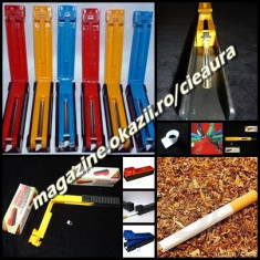 INJECTOR SIMPLU MANUAL pentru INJECTAT TUTUN in TUBURI APARAT de FACUT TIGARI INJECTOARE MANUALE SIMPLE - Aparat rulat tigari
