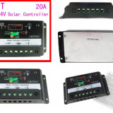 REGULATOR CONTROLER SOLAR Releu de incarcare fotovoltaice 12v / 24v 30 A