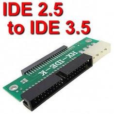 Cablu laptop - ADAPTOR HARD DISC HDD IDE 3, 5 LA IDE 2, 5