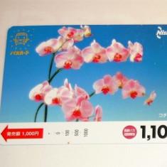 Cartela / Card Japonia - ARTA, FLORA, FLORI -   2+1 gratis toate licitatiile - RBK2384