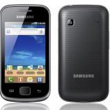 Vand urgent Samsung Galaxy Gio - Telefon mobil Samsung Galaxy Gio, Negru, Neblocat