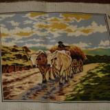 CARUL CU BOI - Tapiterie Goblen