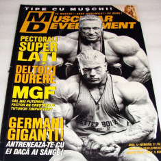MUSCULAR DEVELOPMENT / martie 2007 - Revista barbati