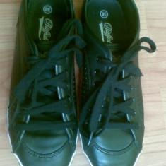 Adidasi dama firma Buffalo marimea 38, originali! Sunt din piele, arata excelent!, Culoare: Negru