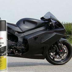 Cosmetice Auto - Spray Vopsea Negru Mat Auto Moto Biciclete Jante Nigrin Germania