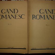Gand Romanesc - 6 numere - ( 1933 - 1935 )