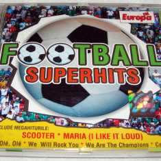 Muzica Dance - FOOTBALL SUPERHITS - SCOOTER - MARIA etc / C.D. Imnuri Echipe de Fotbal