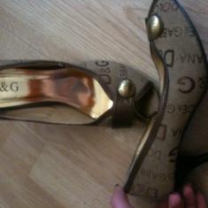Sandale dama Dolce&gabanna D&G, Marime: 39