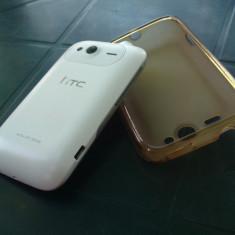 Vand hTc wildfire S - Telefon mobil HTC Wildfire S, Alb, Neblocat