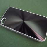 husa protectie rigida vinyl iphone 4 4S expediere gratuita + folie protectie ecran