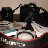 Vand aparat foto Canon EOS 450D (Rebel xsi) - DSLR Canon, Kit (cu obiectiv)