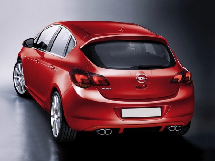 Opel Astra От тюнинг-ателье …