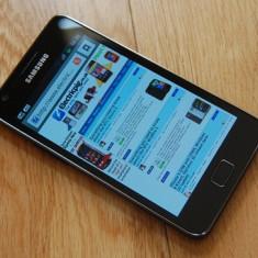 Telefon mobil Samsung Galaxy S2, Negru, 16GB, Orange - Samsung Galaxy S2 - vand sau schimb cu sony / sony ericsson -