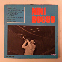 Disc vinil vinyl pick-up MEDIU Electrecord NINI ROSSO 1967 LP EDD 1184 rar vechi colectie - Muzica Jazz