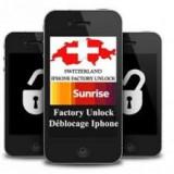Decodare Oficiala / Deblocare oficiala / Factory unlock iPhone 3GS / 4 / 4S Sunrise Elvetia - Decodare telefon