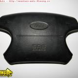 Airbag auto, Ford, MONDEO II (BAP) - [1996 - 2000] - Airbag volan fara butoane cruise control tempomat ford mondeo generatia 1 si 2 mk1 mk2 din anii 1993 - 2000 prefacelift si facelift pt volan in 4 spit