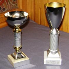 Trofeu / Cupa / Pocal - de colectie - alama - marcata - 1986, 1987
