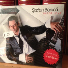 STEFAN BANICA - SUPER LOVE - CD NOU/SIGILAT by MEDIAPRO (2010) - Muzica Pop mediapro music