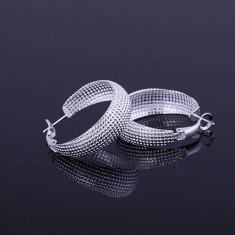 Cercei superbi argint 925 + cutie cadou; 3.9 cm lungime - Cercei argint
