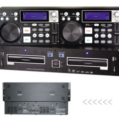 CONSOLA PROFESIONALA MIXAJ OMT CDJ-6600 Dual DJ CD player cu USB/SD/MP3 slots.SIGILATA. - Console DJ