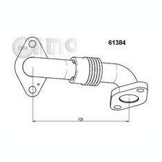 Conducta tubulara turbo VW GOLF V - Tubulatura intercooler turbo