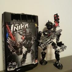 Robot de jucarie LEGO BIONICLE COD 8729 Inika Toa Nuparu in cutie!