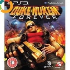 PE STOC Duke Nukem Forever PS3 sigilat (transport inclus la plata in avans) - Jocuri PS3 Take 2 Interactive, Actiune, 18+, Multiplayer