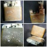 Bricheta Cu benzina - BRICHETA DE COLECTIE BENZINA CU FITIL, Bricheta de colectie, benzina, Mylflam Strato, functionala, anii '30, .germania