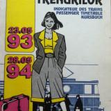 MERSUL TRENURILOR 1993 - 1994 - Carti Transporturi