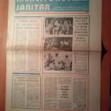 Ziarul muncitorul sanitar 10 octombrie 1981