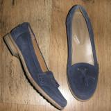 Balerini dama Timberland, Piele intoarsa - SUPER PRET ! Pantofi Timberland Earth Keepers originali piele intoarsa Sz 37!