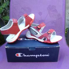 Sandale fete, copii Champion ORIGINALE 100% noi la cutie - Sandale copii Champion, Marime: 31, 34, Culoare: Rosu