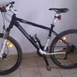 Bicicleta Dynamics Gravity Disc - Mountain Bike, 19 inch, 26 inch, Numar viteze: 24, Aluminiu, Negru