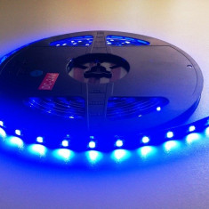 LEDuri tuning G-View - Banda led albastra 24V camioane 60 smd / ml rezistenta la apa