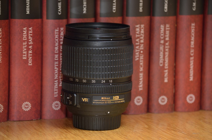 Nikon AF-S DX NIKKOR 18-105mm f/3.5-5.6G ED VR + filtru UV - livrare gratuita ! foto mare