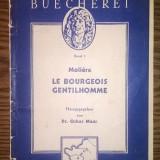 Carte - Moliere - Le bourgeois gentilhomme - Carte veche
