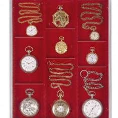 Cutie Bijuterii - PVC Cutie pentru bijuterie, ceasuri, medalie / impartita in 3 randuri/