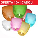 Decoratiuni nunta - Oferta Lampioane zburatoare 10 +1 cadou (11buc)