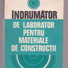 Carti Constructii - A. Stefanescu-Goanga - Indrumator de laborator pentru materiale de constructii